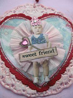 Valentine Swap ornament made by Jeanne Szewczyk