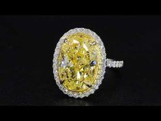 A stunning yellow diamond ring by master jewelry designer, Bez Ambar. At Bez Ambar, our designs are custom made to order to the highest of standards. Art Deco Jewelry, Jewelry Design, Yellow Diamond Rings, Diamond Ice, Yellow Engagement Rings, Bridesmaid Jewelry, Colored Diamonds, Jewelry Collection, Beaded Necklace