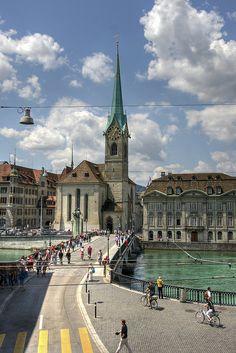 Fraumünster Abbey, Zürich, Switzerland