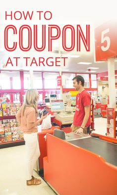 Everything you need to know about couponing at Target!!