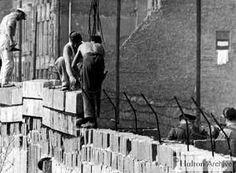 De bouw van de Berlijnse Muur