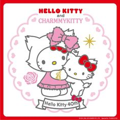 Hello Kitty and Charmmy Kitty <3