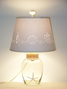 Add your Own Seashell Lamp by BarbaraGailsLamps on Etsy, $67.00