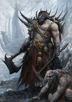 Morbid Fantasy • Chaos Marauder by Alex Boca