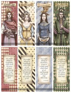 Gryffindor, Hufflepuff, Ravenclaw and Slytherin. Which house are you in? I am in Ravenclaw. Fanart Harry Potter, Harry Potter World, Theme Harry Potter, Harry Potter Quotes, Harry Potter Love, Harry Potter Universal, Harry Potter Fandom, Harry Potter Bookmark, Houses In Harry Potter