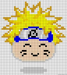 A huge selection of (free!) anime perler bead patterns on this website!