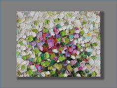 Peinture à l'huile peinture abstraite moderne peinture couteau peinture contemporaine, peinture à l'huile illustration nature morte des mères