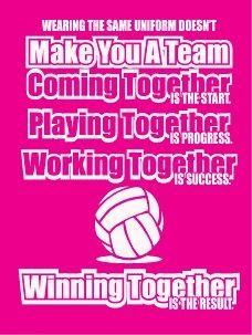 Teamwork  Sportsmanship  Volleyball