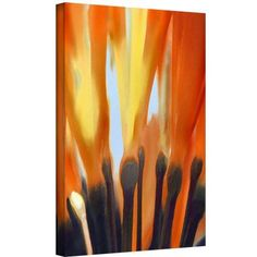 Dean Uhlinger Towards The Light Gallery-Wrapped Canvas, Size: 14 x 18, Brown