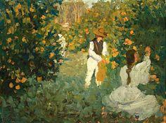 The Orange Pickers, Emanuel Phillips Fox. Australian (1865 - 1915)