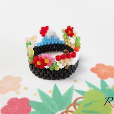 Image List, Bead Patterns, Colorful, Beads, Flower, Hand Made, Beading, Pearler Bead Patterns, Bead