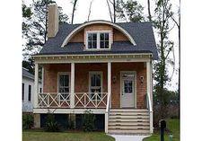 One Level House Plans, Porch House Plans, Log Home Floor Plans, Best House Plans, Cottage House Plans, Cottage Homes, Three Bedroom House Plan, Southern Living House Plans, Dream Beach Houses