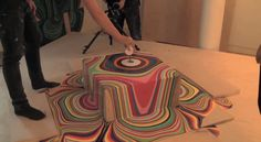 """Holton Rower's """"pour painting"""" timelapse is back to break the internet—one drip at a time."""
