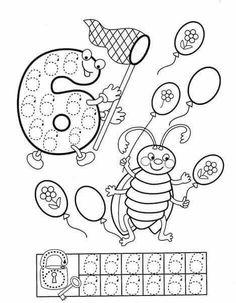 Preschool and Homeschool Preschool Printables, Preschool Worksheets, Learning Activities, Preschool Activities, Kids Learning, Pre K Worksheets, Handwriting Activities, Kindergarten Lessons, Learning Numbers