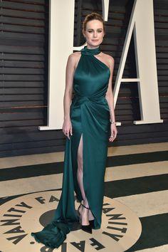 Brie Larson in Ralph & Russo | 2017 Vanity Fair Oscar Party