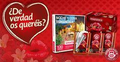 ¡Gana una experiencia romántica para 2, valorada en 99,90€! Pidiendo muestras de la infusión Hot Love e invitando a tu pareja a participar.