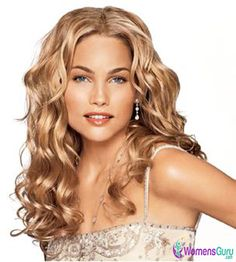 Curly and Tongs Hairstyles for Blondes