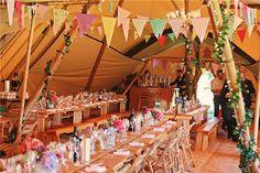 Mr & Mrs Unique :: Wedding Tipi :: Wedding Tipi specialises in providing…