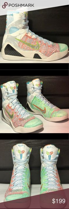 "Nike Kobe IX ELITE ""What The Kobe"" New w/o box Brand new shoes do not come with original box. Nike Shoes Athletic Shoes"