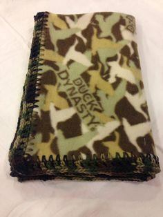 Duck Dynasty Fleece Baby Blanket by Wrensteele on Etsy