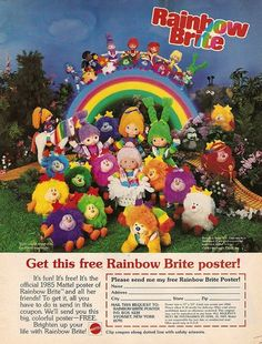 Wish they would bring back Rainbow Brite like they did Strawberry Shortcake.