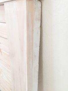DIY Farmhouse Headboard - Haus of Layne Diy King Size Headboard, Wood Headboard, Headboards For Beds, Headboard Ideas, Panel Headboard, Bedroom Ideas, Woodworking Jig Plans, Woodworking Magazine, Woodworking Projects