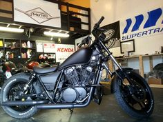 Almost done Shadow 750 Bobber.