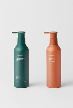 Ayunche Brand Refreshment / Amos Professional, 2021 / Deigned by Jiyoun Kim Studio™ - Jiyoun Kim, Hannah Lee, Dokyoung Lee / www.jiyounkim.com Hannah Lee, Shampoo, Bottle, Color, Flask, Colour, Jars, Colors