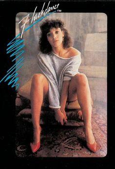 Flashdance, 1983; Panini, Modena; dall'album per la raccolta di 100 figurine