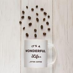 Breakslow - It's a wonderful life . after coffee bögre Its A Wonderful Life, I Shop, Mugs, Coffee, Tableware, Kaffee, Dinnerware, Life Is Good, Tumblers