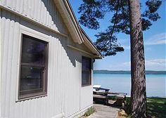 The Pines: a 3 BR, 1 BA vacation rental cottage on Big Glen Lake in Glen Arbor, MI. www.lvrrentals.com.