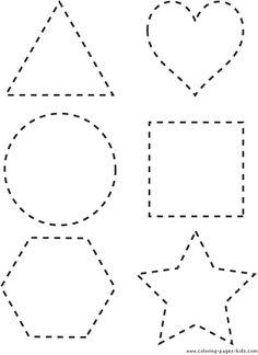 Alleen 6 vormen in dezelfde maat