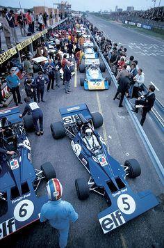 Jackie Stewart & Francios Cevert, Tyrrell 003 @ 1971 Dutch Grand Prix