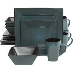 Gibson Kiesling 16 Piece Dinnerware Set & Reviews | Wayfair
