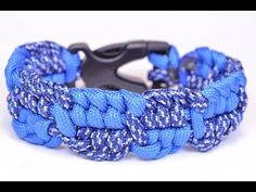 "Make the ""Ripple Bar"" Paracord Survival Bracelet - BoredParacord! - YouTube"