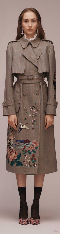 Pre-fall 2018 Erdem #women'swintercoatscloset