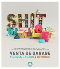 SHIT GARAJE CARTEL! por AARON MARTINEZ, a través de Behance