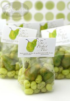 GCDSpa Celebrations Perfect Pear Candy Favors