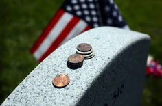 Armand's Rancho Del Cielo: What Do Coins Left At Military Headstones Mean?
