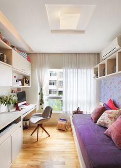 Apartamento Barão da Torre / Paula Neder #bed #bedroom #lighting