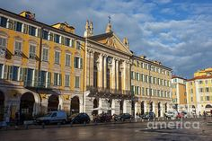 French Riviera, Saints, Coast, Louvre, Street View, France, Wall Art, Nice, Building