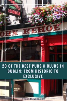 20 of the best Pubs & Clubs in Dublin from Historic to Exclusive Dublin Pubs, Dublin Ireland, Travel Tips, Travel Destinations, Travel Ideas, Ireland Destinations, Travel Info, Ireland Travel Guide, Dublin Travel