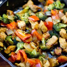 One Pot Paleo Chicken Curry Stir Fry