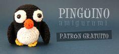 Susigurumi: Patrón Pingüino Amigurumi
