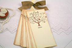 Wish Tree Wedding Tags Wishing Tree Tags Guest by seasonaldelights
