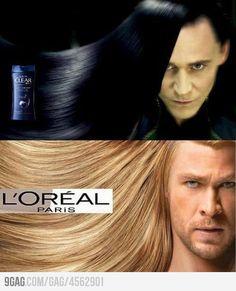 Loklear and TH'OREAL: Shampoo of the Gods