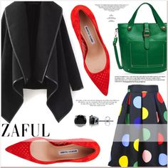www.zaful.com/?lkid=7011 by lucky-1990 on Polyvore featuring moda, Manolo Blahnik and BERRICLE