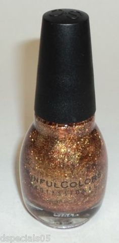 Sinful Colors - All About You Coppery-Gold Glitter