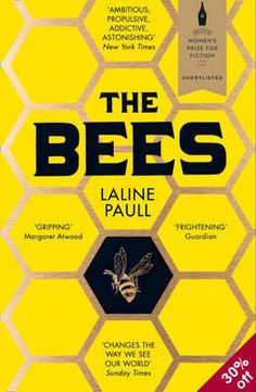 """Title: The Bees Author: Laline Paul Genre: Contemporary Fiction, Fantasy Source: Purchased Rating: Liked it out of This month, the theme for my book club was """"judging a book by it's cover"""". Got Books, Books To Read, Bee Book, Watership Down, Thing 1, What To Read, Book Cover Design, Book Design, Design Ideas"""
