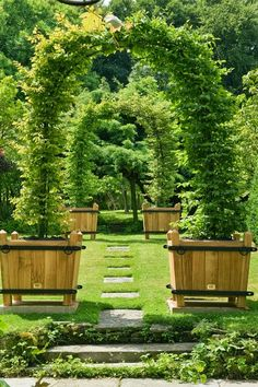 Fun idea for an arbor...we have done this successfully many times